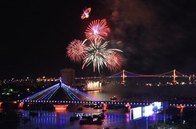 Fireworks contest to light up Da Nang in April